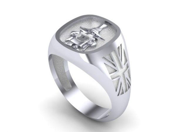 """""""Spook"""" Sterling Silver,Union Flag Edition"""