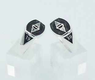 [:en]STYA Sterling Silver Ring[:el]ΣΤΥΑ Ασημένιο Δαχτυλίδι - Μαύρο Σμάλτο.[:]