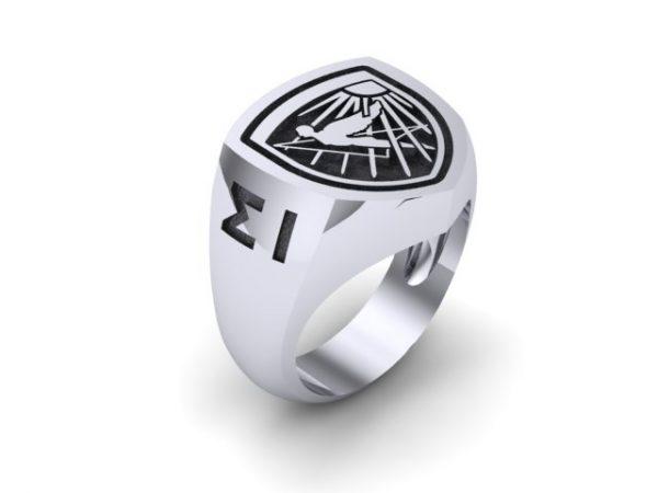 "[:en]Hellenic Air Force Academy Sterling Silver Ring ( Ikaron)[:el]Δαχτυλίδι ""Σχολή Ικάρων"" σε Ασήμι ή Χρυσό[:]"