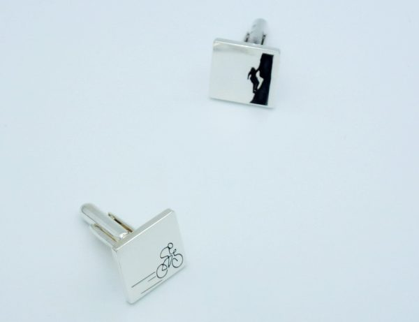 Sterling Silver Cufflinks  - Custom Made