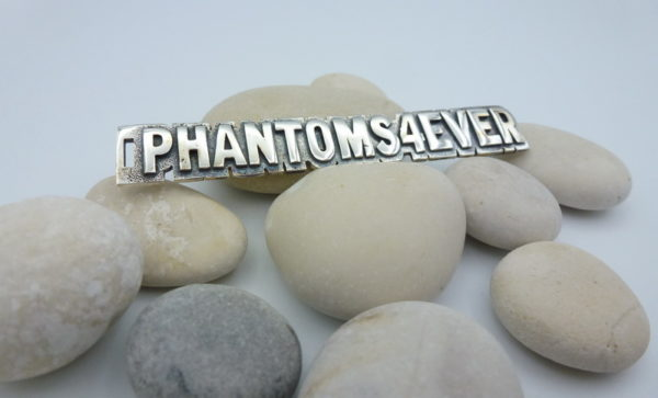 "[:en]""PHANTOMS4EVER"" Sterling Silver Tag[:el]Ασημένιο Πλαίσιο  ""PHANTOMS4EVER""[:]"