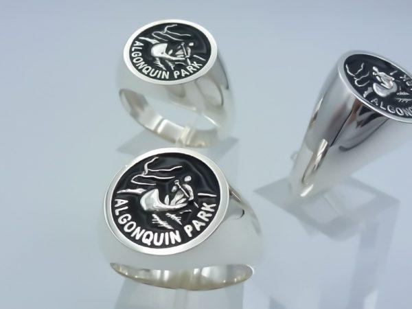 "[:en]Sterling Silver ""Algonquin Park"" remembrance Ring - A Custom made order[:el]Ασημένιο Δαχτυλίδι ""Algonquin Park"" - Αναμνηστικό Δαχτυλίδι Φιλίας[:]"