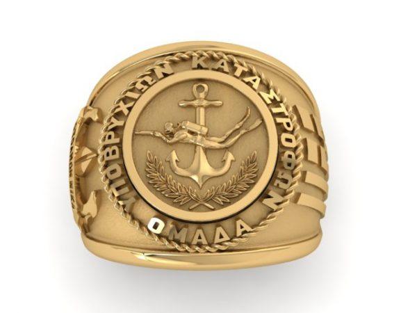 [:en]O.Y.K. Sterling Silver Ring / Special Forces Edition / Hellenic Navy[:el]Δαχτυλίδι Ο.Υ.Κ. / Ειδικές Δυνάμεις & Πολεμικό Ναυτικό[:]