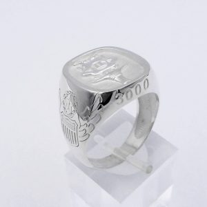 Spook XL Sterling Silver Ring
